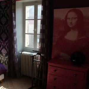 fentre de la suite la dormeuse escarboucle maison d'hôtes bligny sur ouche Bourgogne à proximité de Beaune visitez nos chambres et nos suites