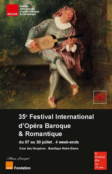 sortie culture loisir actualités locales news affiche festival opéra beaune l'escarboucle maison d'hotes à bligny sur ouche cote d'or bourgogne à proximité de Beaune